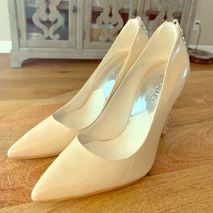 Michael Kors Nude Pointed Toe Pumps